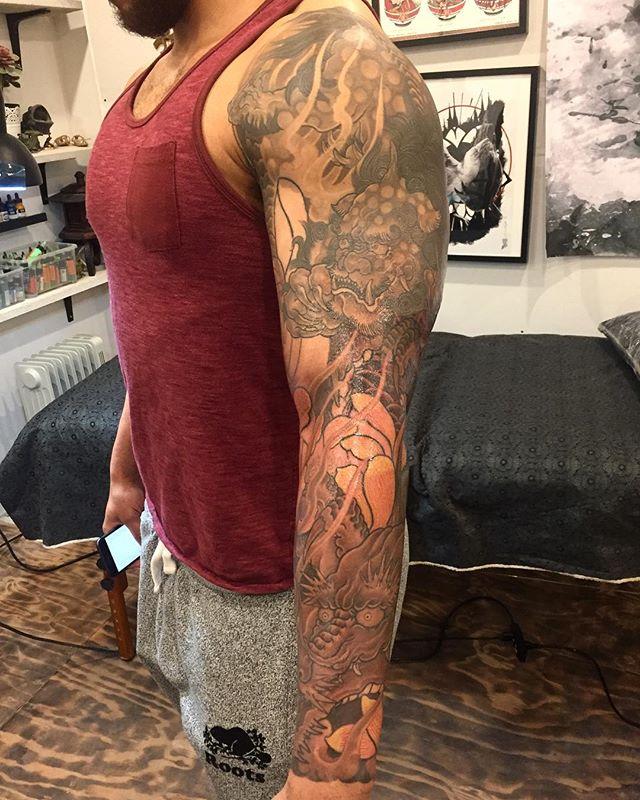 ➖Hello, Follow @tattoopeopletoronto➖ ———————————————————— 📞:1-647-850-5977 ✉️:tattoopeople521@gmail.com 🖥:www.tattoopeople.ca ➖Tattoo work by @khantattoopeople ➖ ————————————————————— #tattoopeopletoronto ————————————————————#tattoo#tattoos#tattooink#tattooartist#torontotattoo#tattooink#art#TAOT#tttism#tattoopia#txttooing#tattooartist#design#illustration#torontoinknews#타투#타투도안#드로잉#일러스트#타투일러스트#토론토#타투피플#纹身#刺青#japanesetattoos#irezumitattoo#orientaltattoos#irezumicollective#japanesetattooart