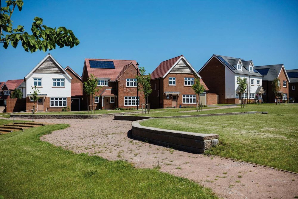 Examples of Redrow House Types