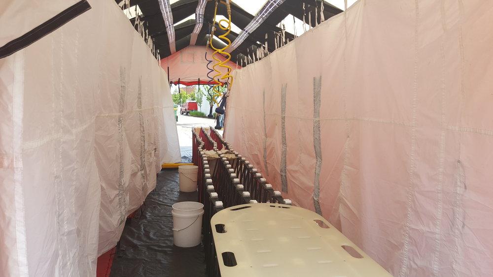 Mass Decontamination Unit (MDU) Training