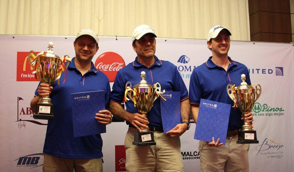 Ganadores de la vigésima edición del   Torneo de Golf Benéfico de la Fundación Infantil Ronald McDonald.