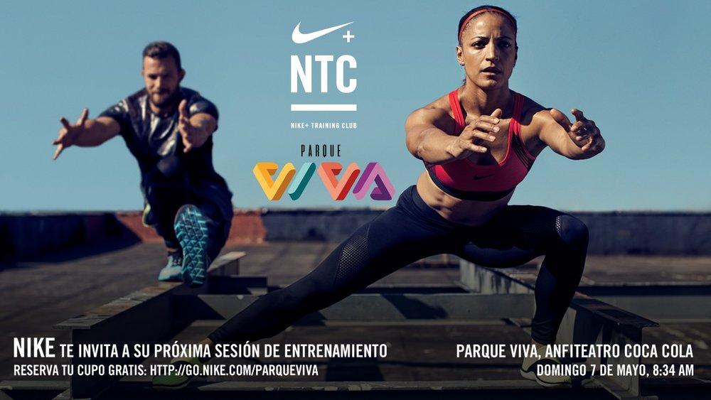 Ejercítese con los mejores   Buenas prácticas de deportistas élite e investigaciones respaldan entrenamientos funcionales de Nike.    Plataforma NTC ofrece diversas opciones según necesidades y potencialidades de los usuarios.