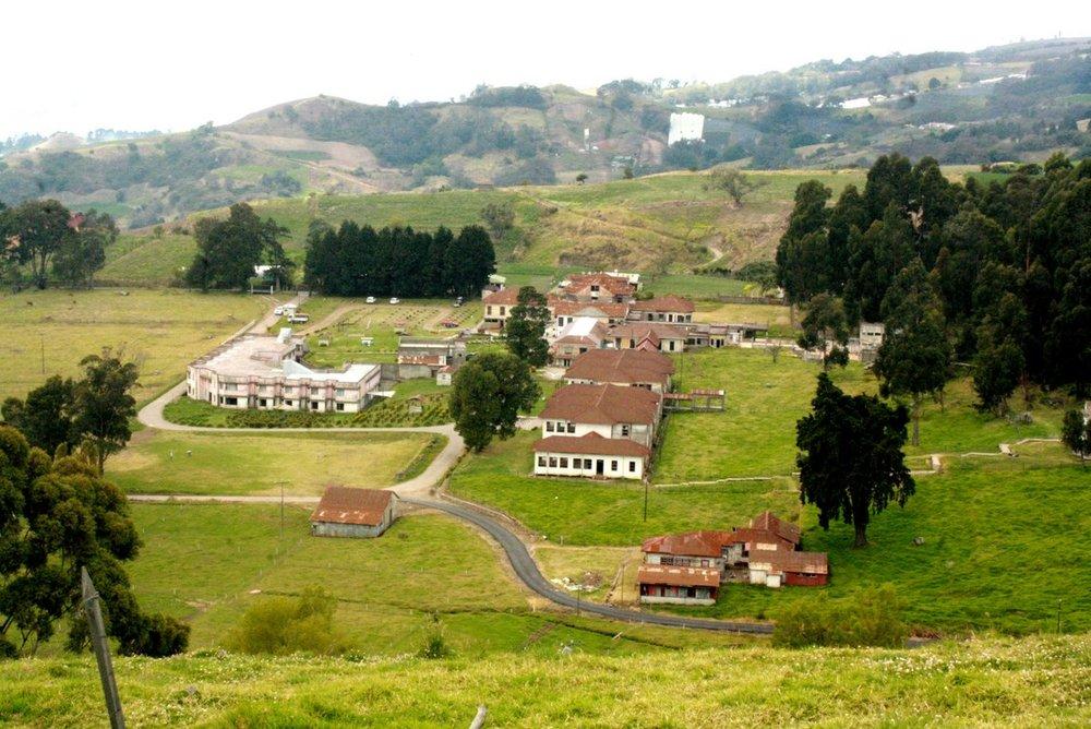 Vista del área del Sanatorio Durán que fue restaurada.