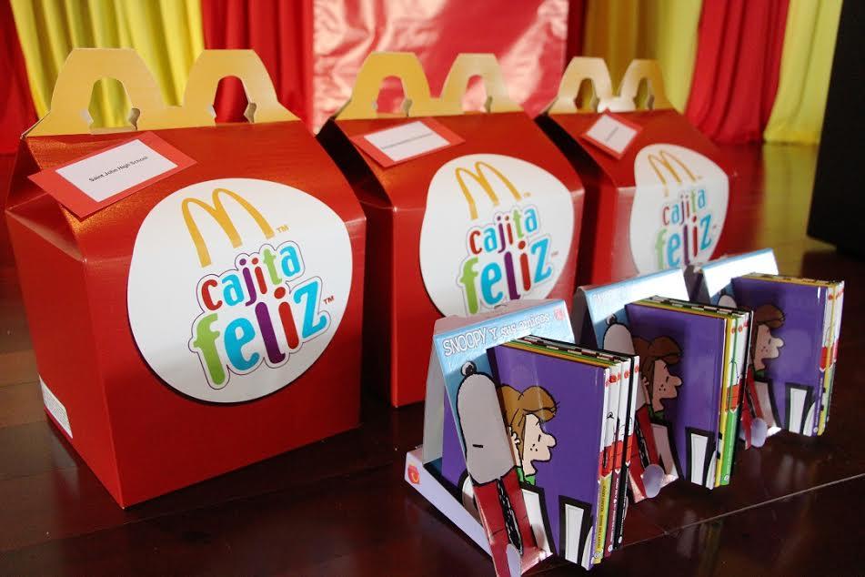 Donación de colecciones por parte de McDonald's