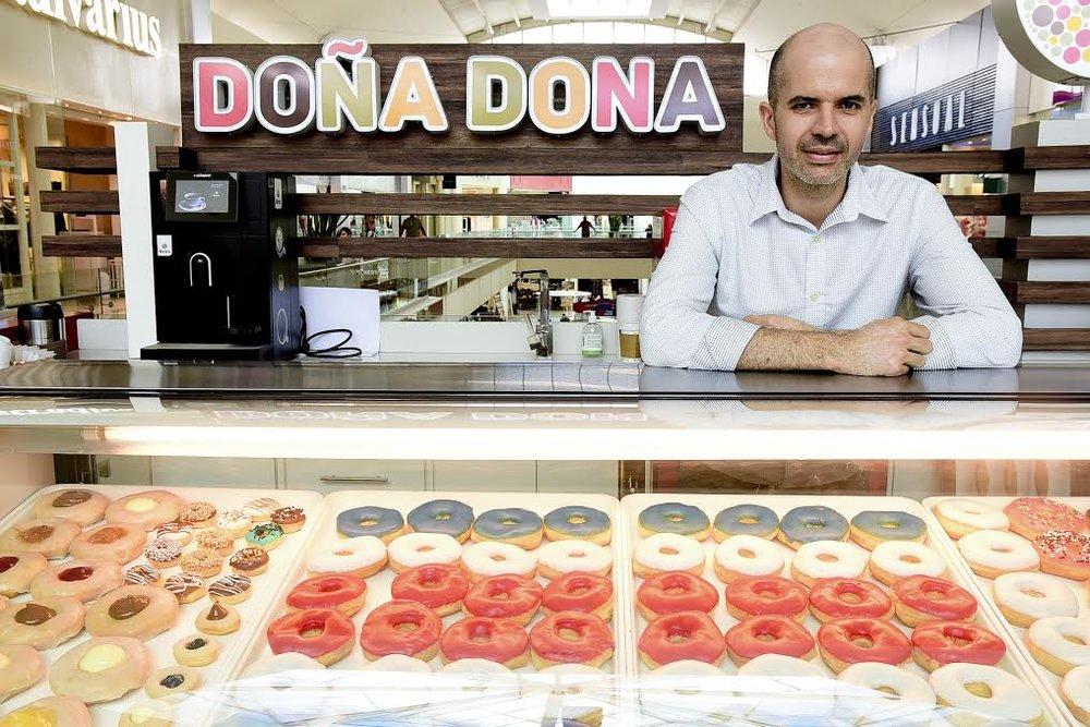 Javier Becerra, emprendedor y gerente general de DOÑA DONA,