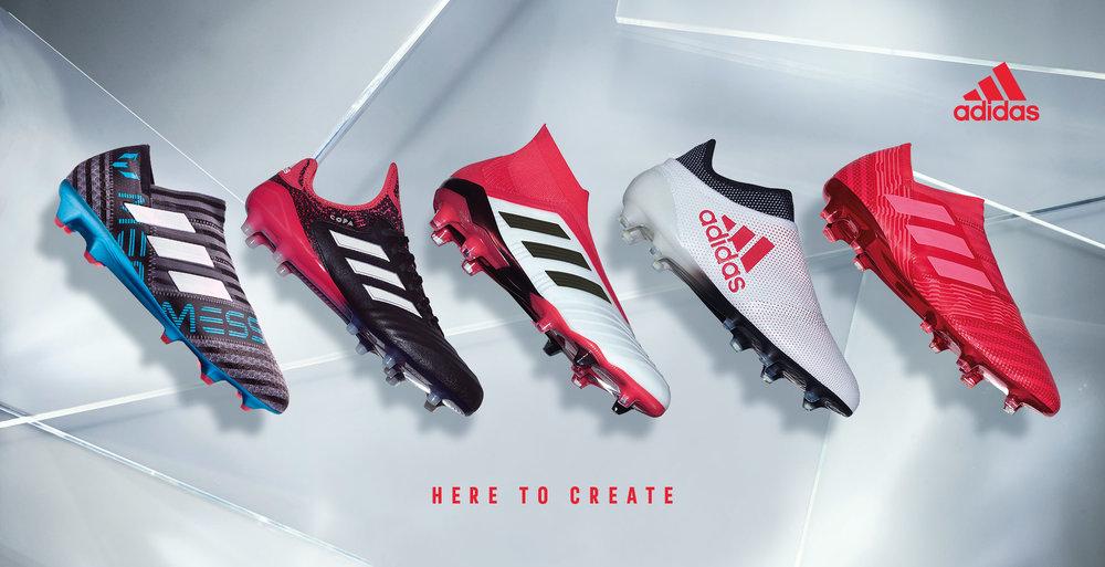 2839e1affc4cc Llegan a Costa Rica los nuevos tacos de adidas para jugar fútbol ...