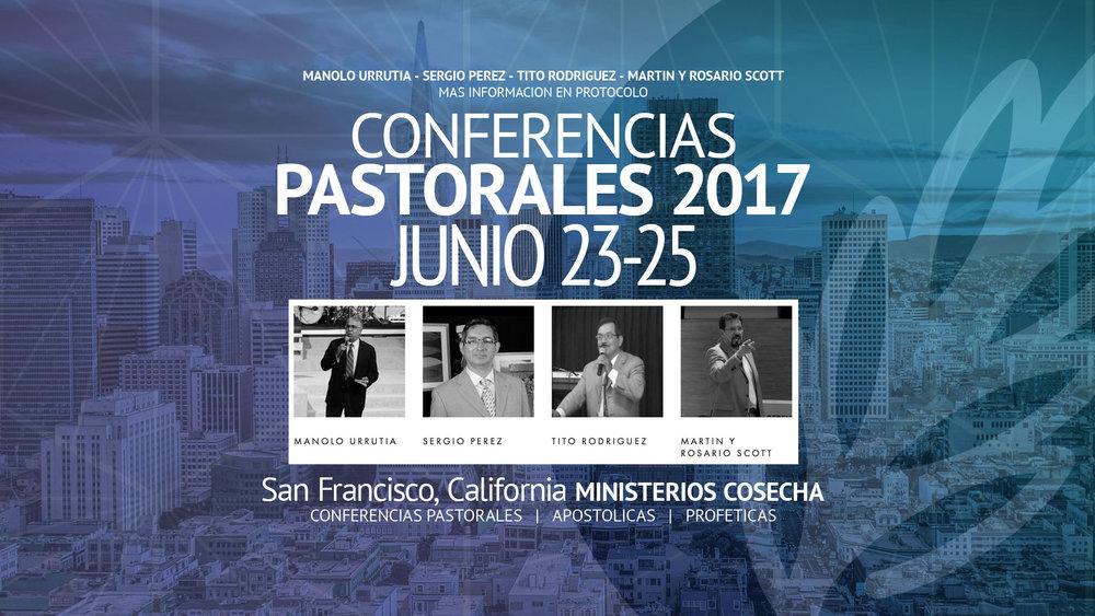 Conferencias Pastorales Ministerios Cosecha
