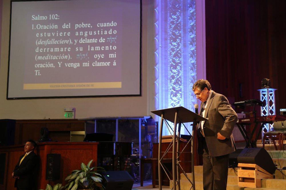 pastor vladimiro vasquez
