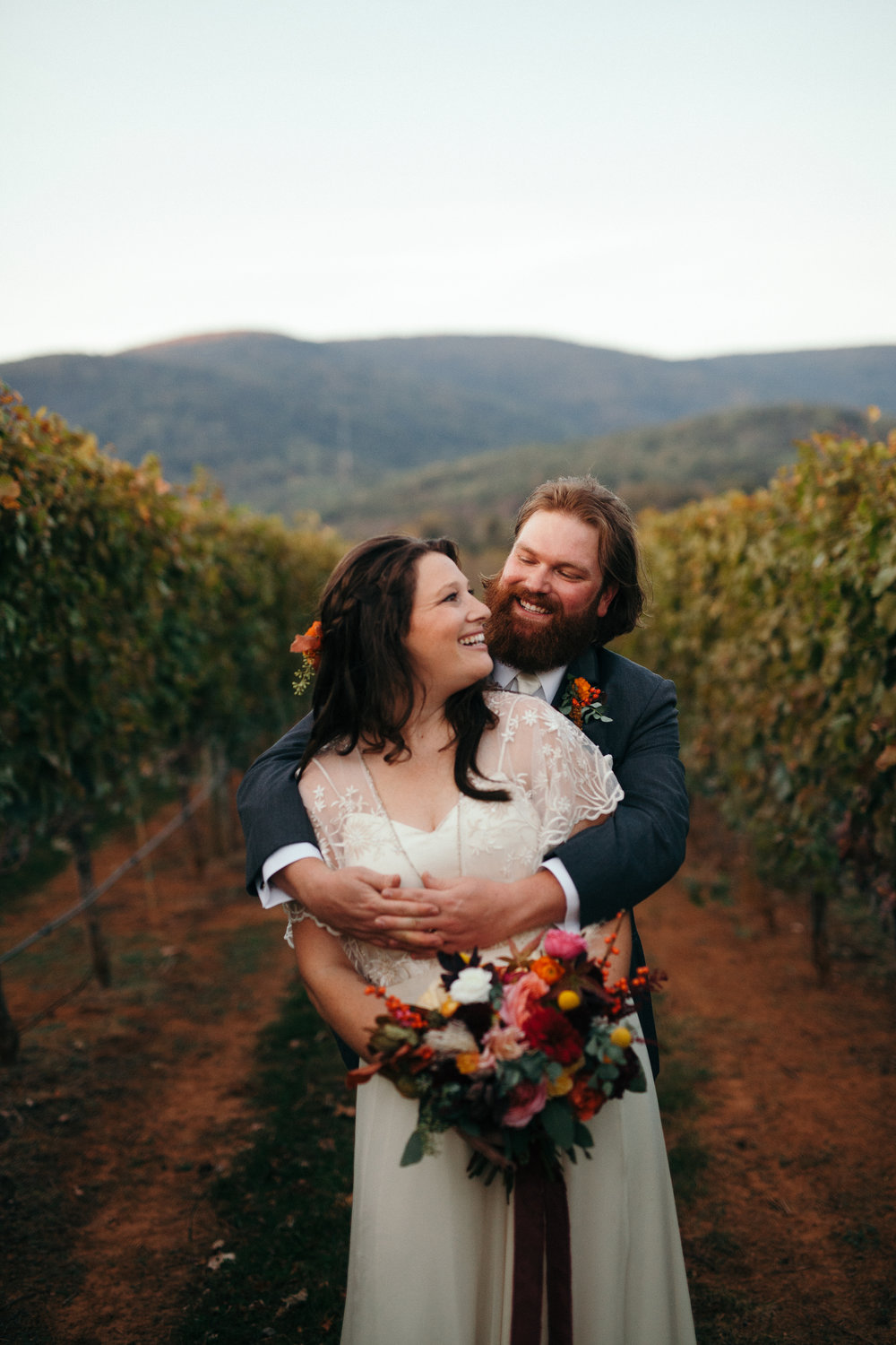 Vibrant Fall Wedding in the Mountains