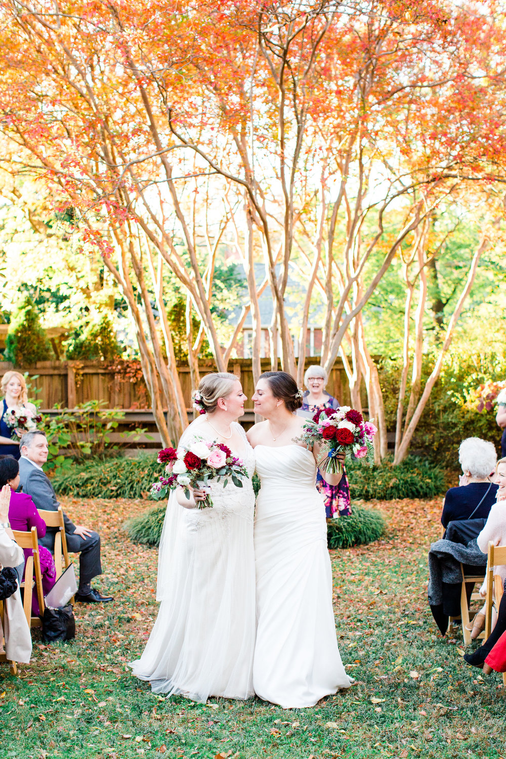 Late Fall Intimate City Wedding