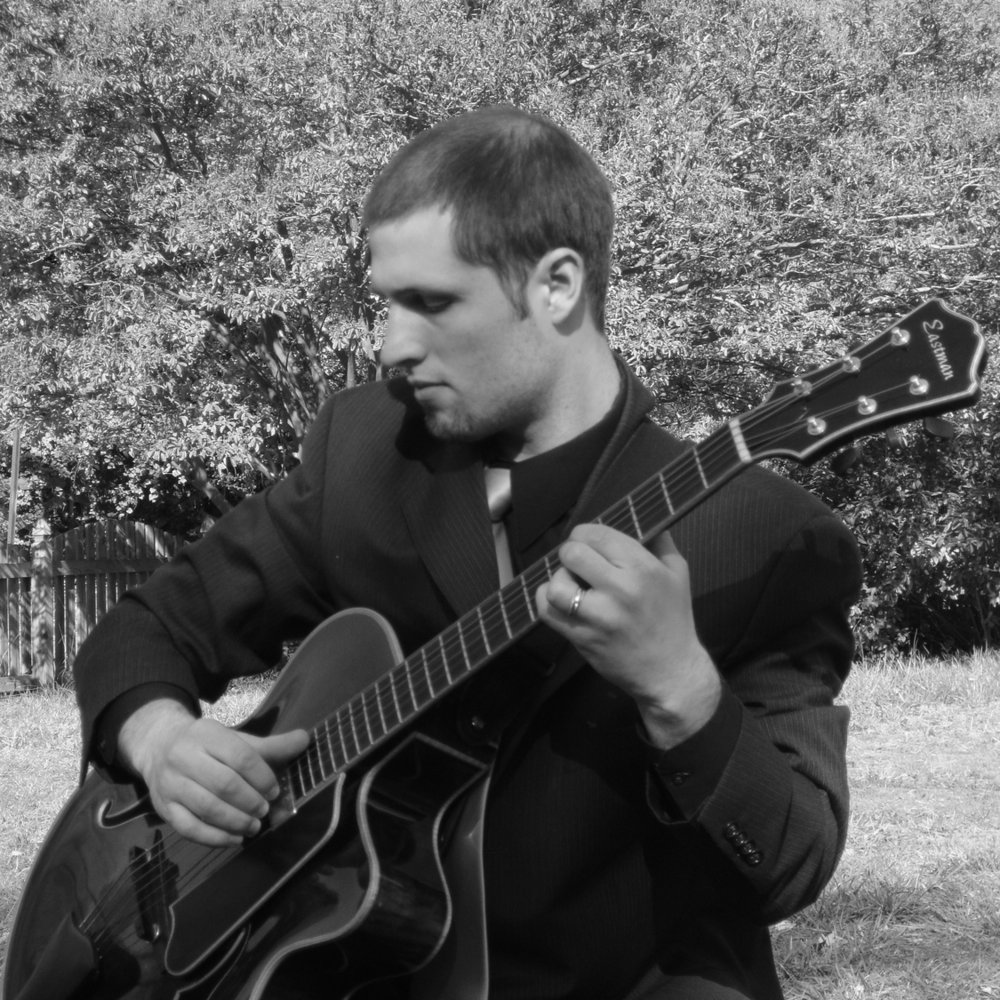Acoustic Guitar Connor Thompson   In addition to background music for private parties, I have played many wedding receptions (particularly cocktail hours before a dance band) and several wedding ceremonies. For ceremonies, I offer clients custom arrangements of their chosen music set in a solo guitar style. Music I have arranged and performed for past weddings as been quite varied, including pieces by The Beatles, Fleetwood Mac, Joe Cocker, Michael Buble, Alison Krauss, and U2. This allows a client the flexibility to select exactly what they want and tailor the ceremony to their own unique style.