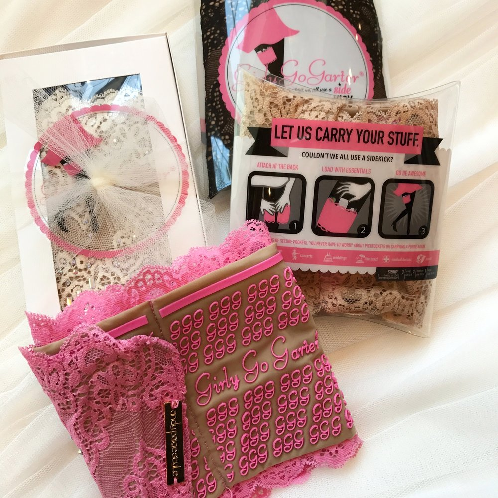 Girly Go Garters make the perfect  under $50 gift!