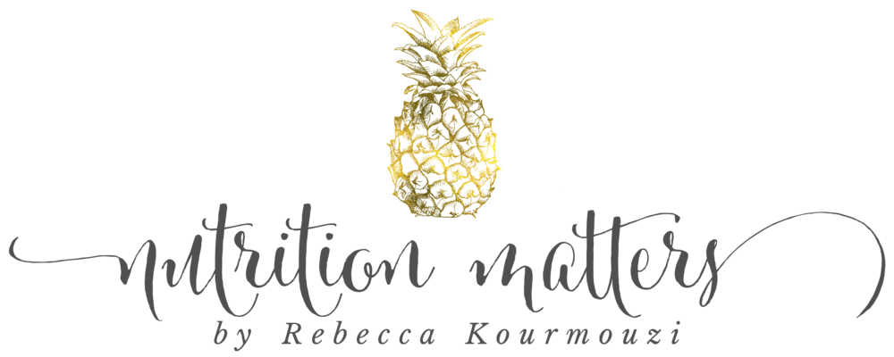 Nutrition Matters by Rebecca Kourmouzi