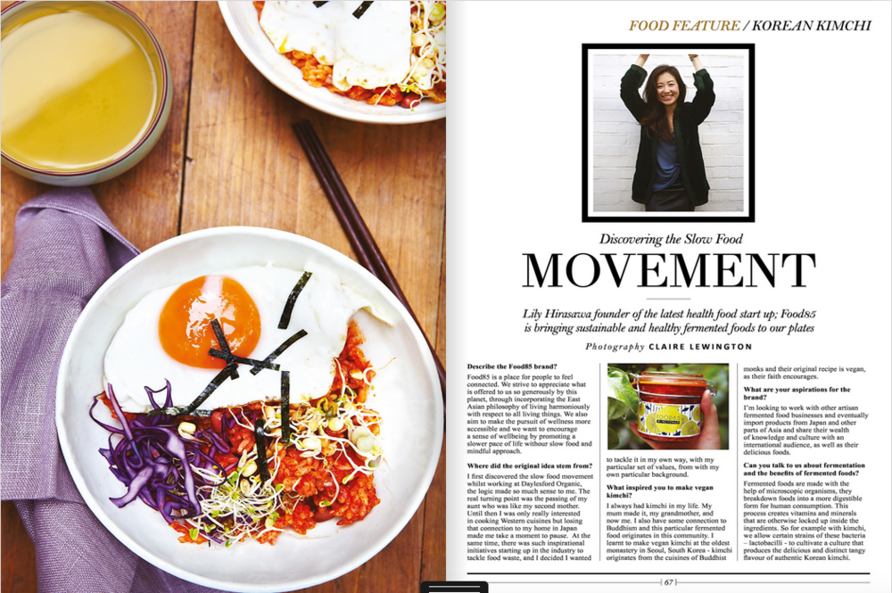 food85 featured in style of the city magazine