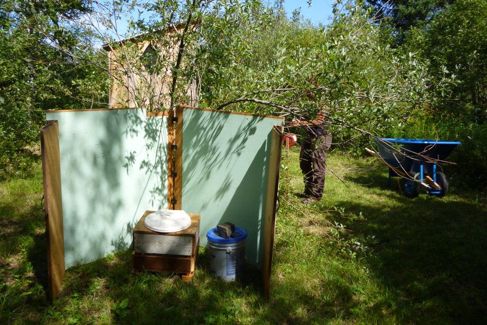 or outside! Creating wonderful hu-manure!