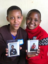 Instant Photograph Smiles Tanzania