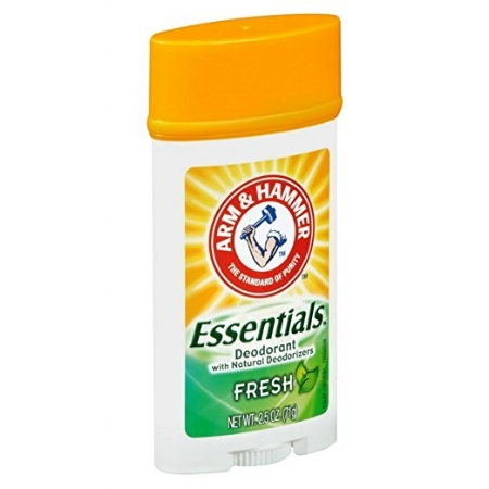 Arm & Hammer Essentials Natural Deodorant - This is a good back up deodorant. I find the scent a bit too aggressive, but it is a baking soda free hard gel formula which I like. This might be a good deodorant for heavy gym days where you want the deodorant scent to linger. Price $3.99