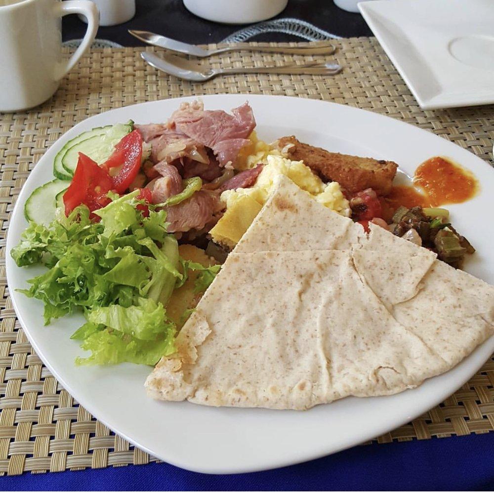 Breakfast in Trinidad