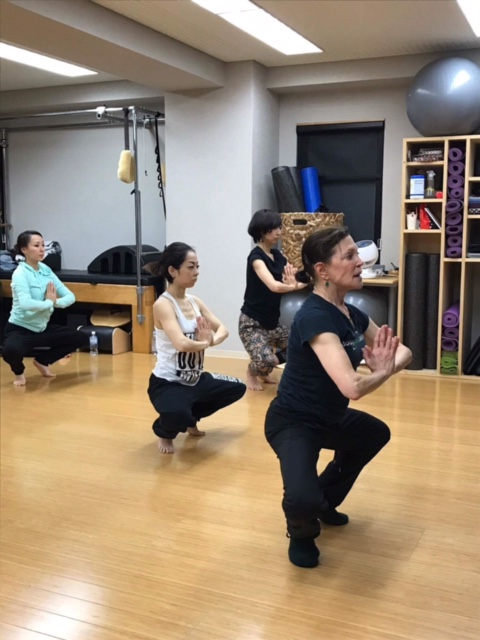 Teaching at Studio Natural Flow in Tokyo, Japan