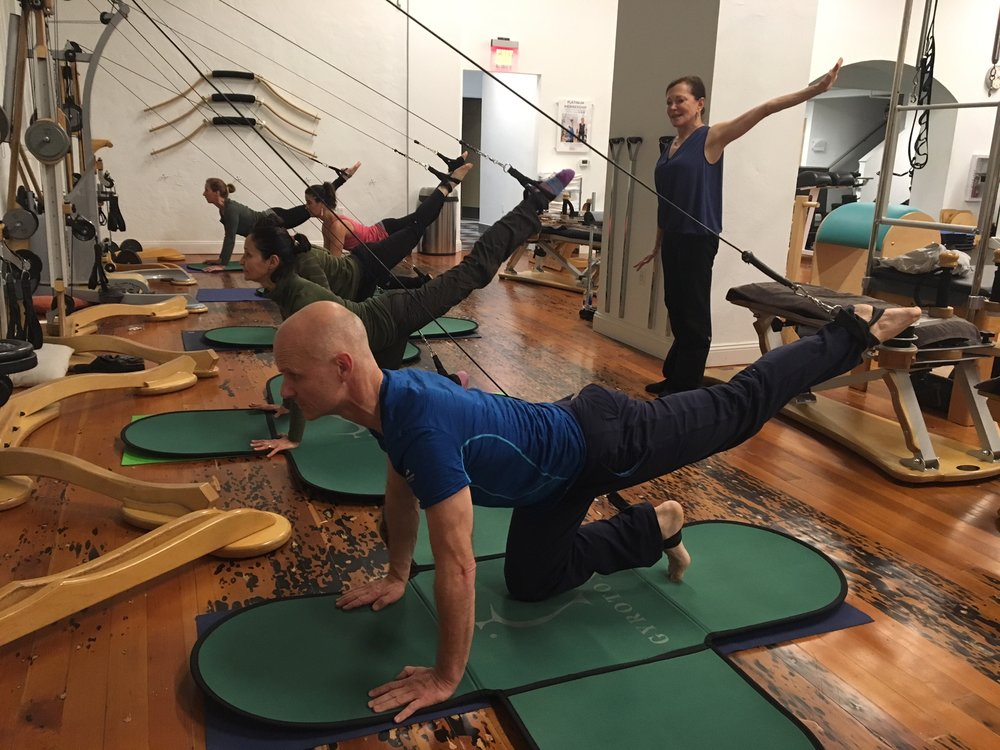 Gyrotonic class at The Working Body in Oakland, CA