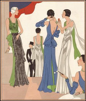 1930s: Evening wear, bringing sexy back