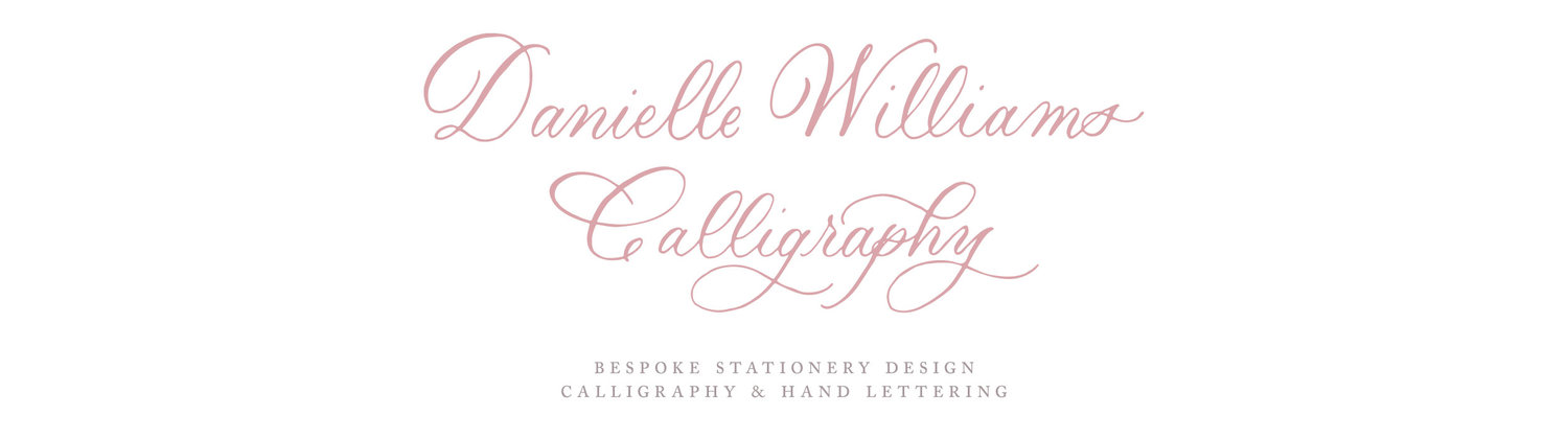 Danielle Williams Calligraphy