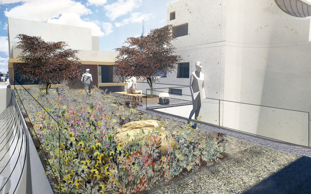 Step 1: the live/work garden transition