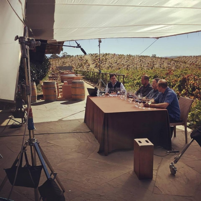 Another live shoot, this time at Ridge Vineyards' Lytton Springs Winery just north of Healdsburg.