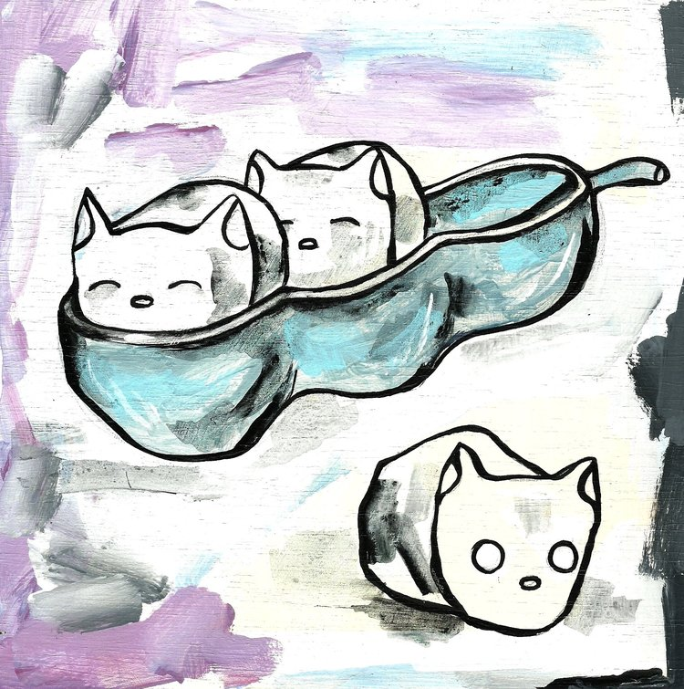Peapod cats