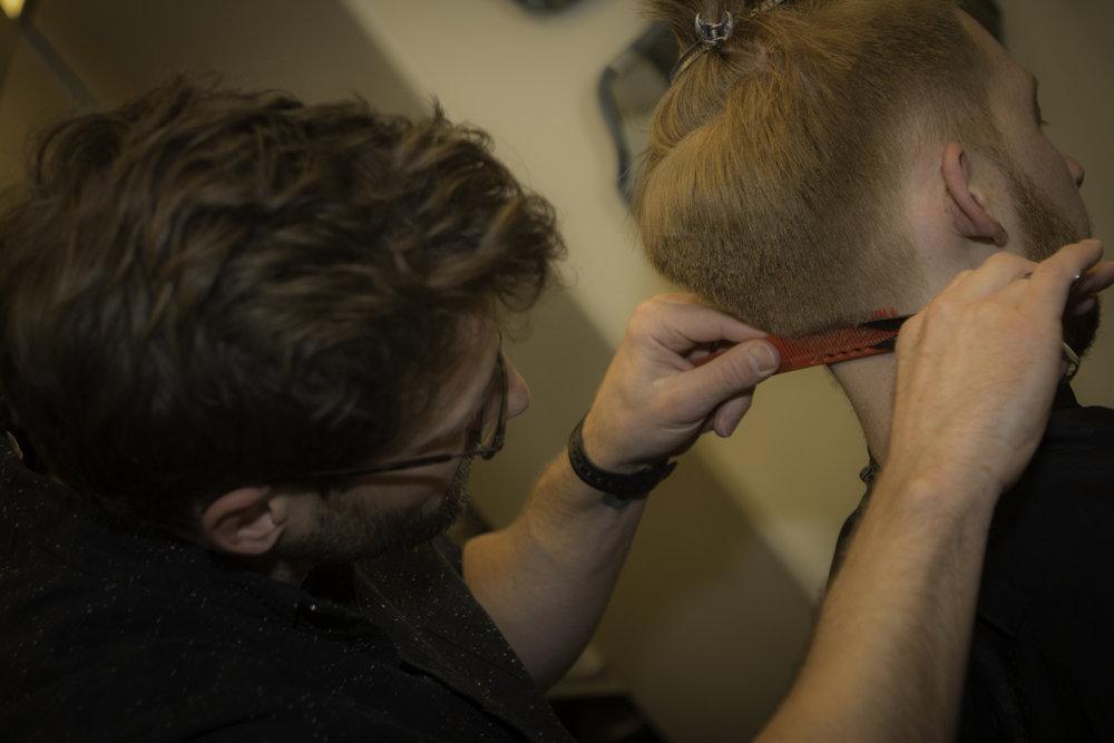 Complimentary neck trim