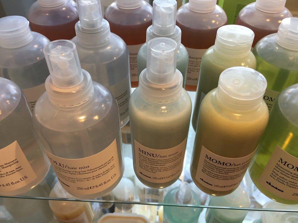 Davines Essentials Shampoo and Conditioners