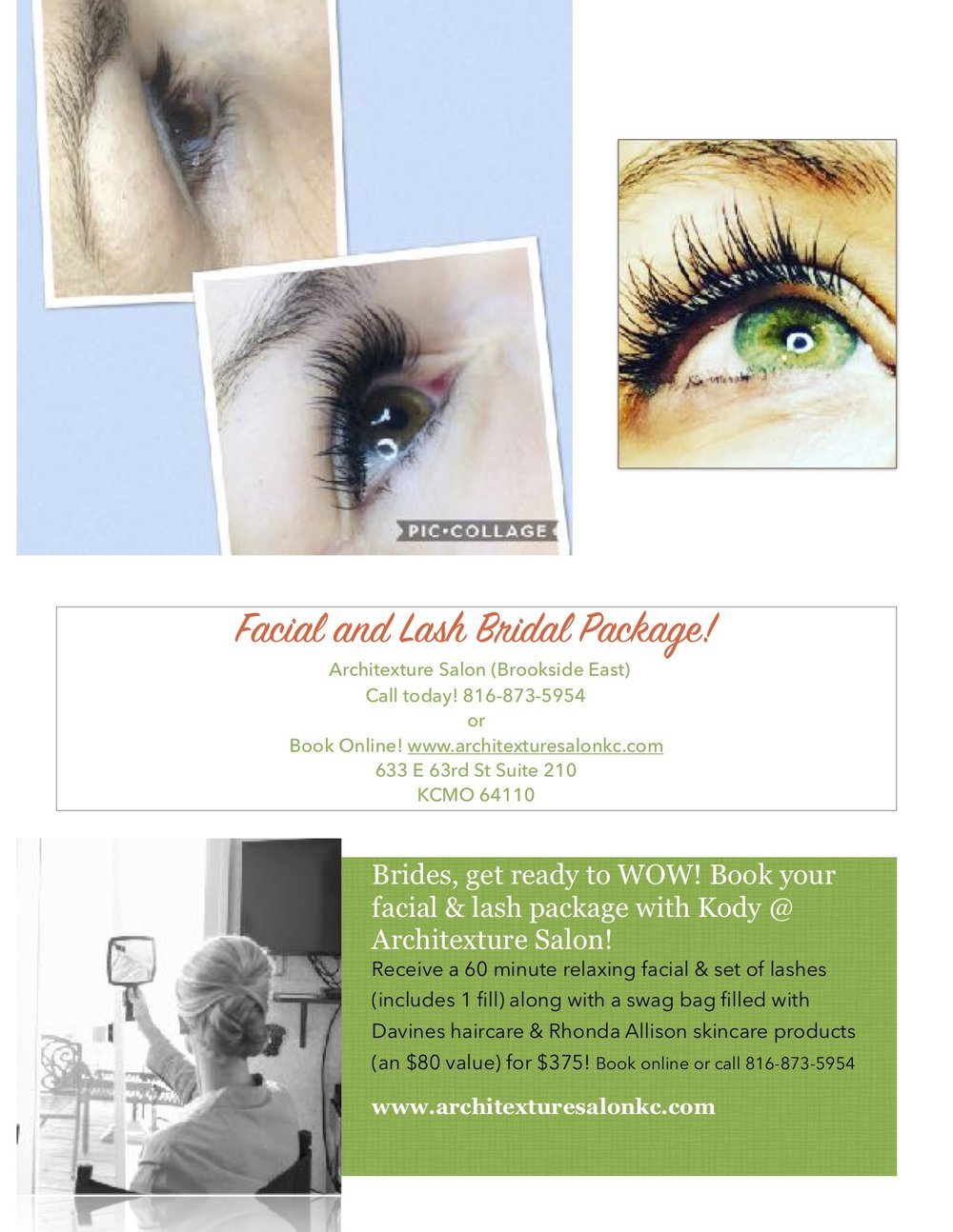 Wedding Day Prep Package - KC Brides! Pamper yourself!