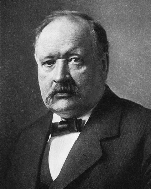 Svante Arrhenius, c1910. Source: Wikipedia.