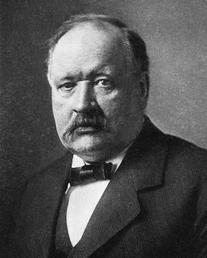 Svante Arrhenius, c1910.  Source: Wikipedia .