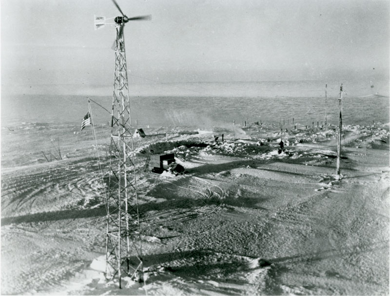 Jacobs 2.5kW unit at Admiral Byrd's Antarctica Camp, 1934