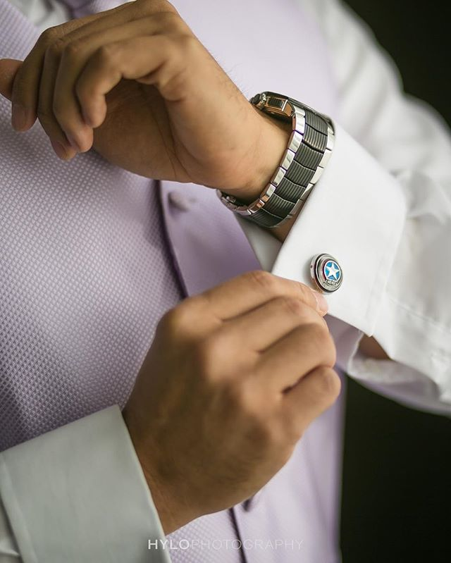 It's all about the details on this Friday! Check out these awesome cuff links!
