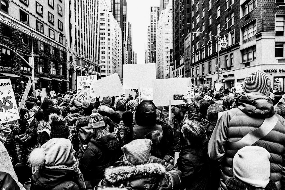 The Women's March on NYC (New York City, USA)