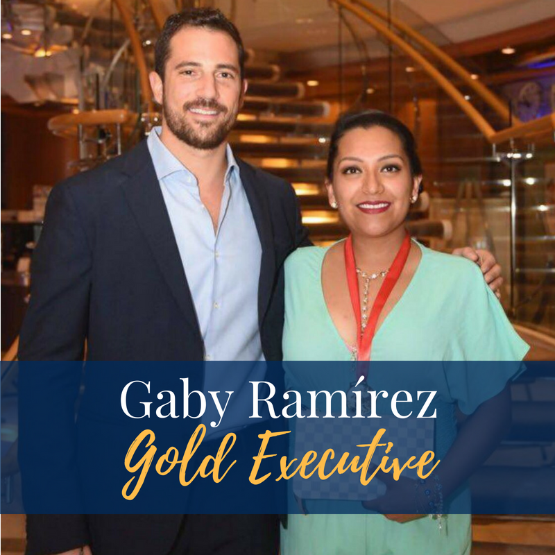 Reaching New Heights... - We recently had the pleasure of interviewing Gaby Alejandra Ramírez, an entrepreneur with several years of experience in the industry, and one of the brilliant distributors that has achieved the much sought after, Executive Gold Distributor rank.With a degree in International Business from Universidad Anáhuac, Querétaro Campus, and with 11 years of experience in network marketing, Gaby also comes from a large line of leaders since its inception, her parents Roberto Ramírez and Gaby Ramírez, renowned Diamond Distributors Nice & Bella from Austin, TX.To learn more about this great influencer, continue reading in the section below.