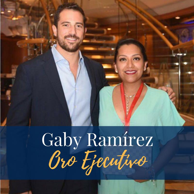 Alcanzando Grandes Metas... - Recientemente tuvimos el placer de conversar con Gaby Alejandra Ramírez, empresaria con varios años de experiencia en la industria, y una de las brillantes distribuidoras que ha alcanzado el tan anhelado rango de Distribuidor Oro Ejecutivo.Con licencia en Negocios Internacionales de la Universidad Anáhuac, Campus Querétaro,y con 11 años de experiencia en en las redes de mercadeo, Gaby también viene de una gran línea de líderes desde sus comienzos, sus padres Roberto Ramírez y Gaby Ramírez, reconocidos Distribuidores Diamantes Nice & Bella de Austin, TX.Para conocer más sobre esta gran líder, continua leyendo en la seccion a continuación.