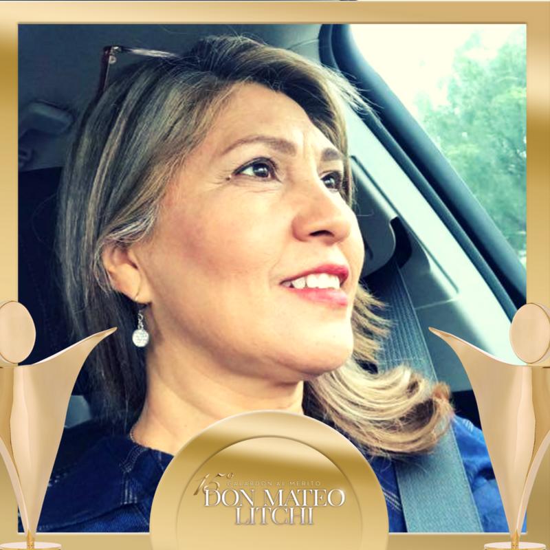 Aurora Rodríguez - Nominada Internacional / Galardón Don Mateo Litchi