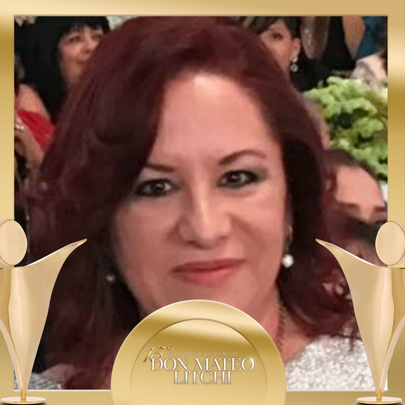 Martha Carime García Sarquis - Don Mateo Litchi Award / International Nominee