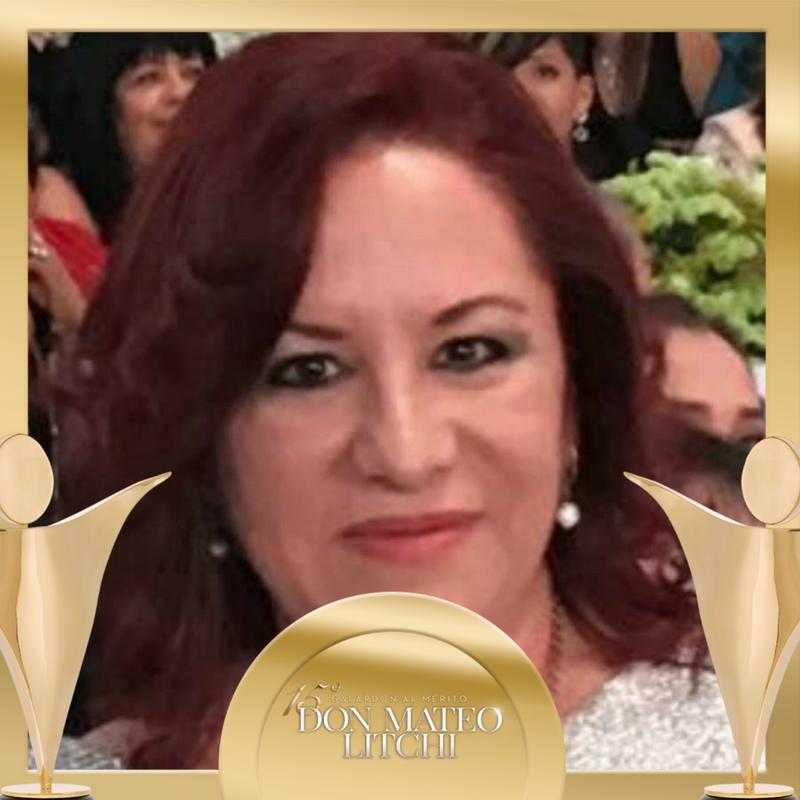 Martha Carime García Sarquis - Ventas Internacional, Galardón Don Mateo Litchi