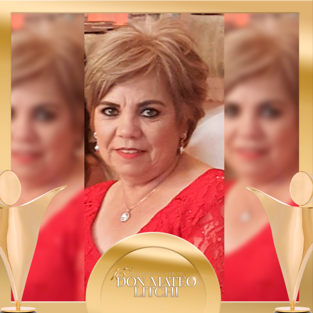 Maria Guadalupe Lara - Venta Expertos, Galardón Don Mateo Litchi