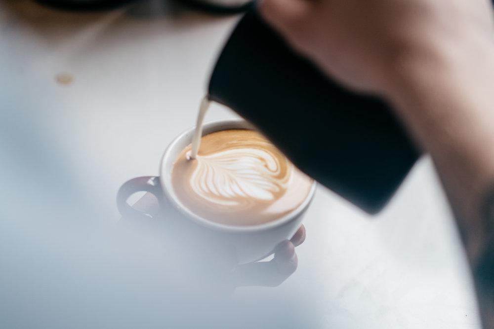 latte art coffee class