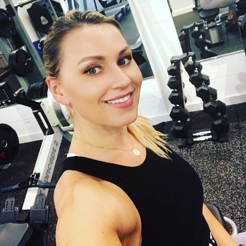 "Trainer Spotlight: Linda Liduma. She began training in her home country of Latvia and brought her passion for wellness to the U.S. where she competes in fitness competitions and motivates her clients to push their limits—both physically and mentally. She says ""The satisfaction of watching clients find and reach their goals is significant.  Even more profound, is the growth in mental well-being that develops in an individual."" @latvian_figure Think Linda is your match? Take our quiz [link in bio] and find out! 🖤#personaltrainers #trainerspotlight #greenwichsbesttrainers #greenwichct #fairfieldcounty #fitlife #fitwomen #girlswholift"