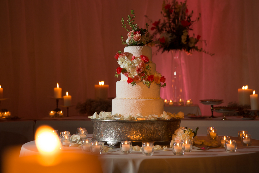 Rockford Community Hall Lighting Decor,Wedding Reception Cake Lighting.jpg