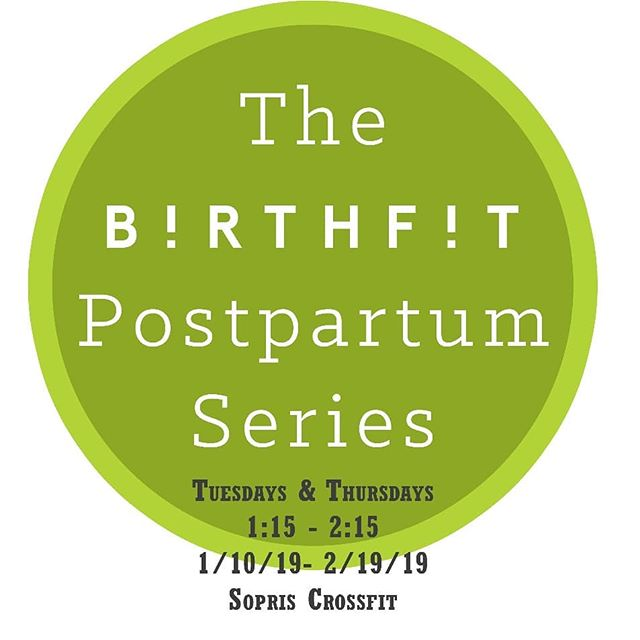 Happy New Year Mamas! Wanted to remind you of #BIRTHFIT RFV's upcoming #postpartumseries starting in ONE week. Check out series details on our website 💚😀 #fitness #nutrition #connection #mindset #postpartum #strongmama