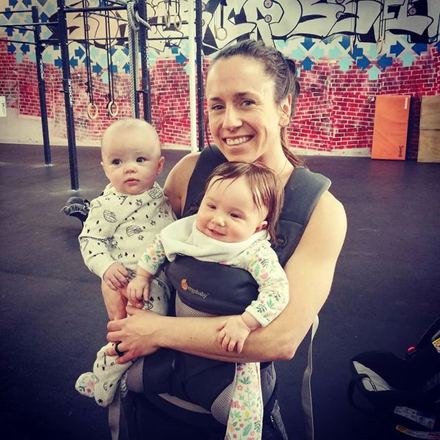 BIRTHFIT Regional directors are amazing at baby holding while mom gets her functional movement on 💪🙌 #birthfit #postpartum #fitness #nutrition #connection #mindset #postpartum #strongmama #babyholding