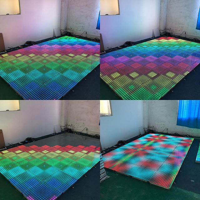 Great news ... our LED/DIGITAL floors are almost prepped and ready to hit the streets of TORONTO ... EXCLUSIVELY at @marquee.design ... call us for a quote today! Info@marqueedesign.ca or 647 771 8007