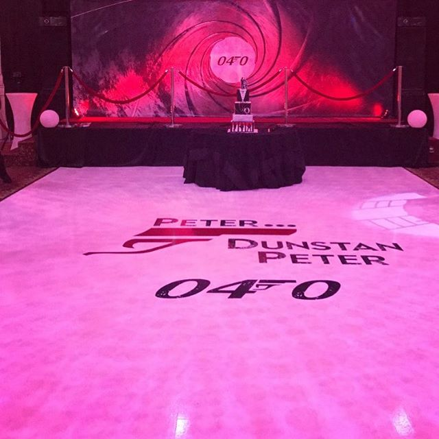 Wow wow wow! We had such a blast putting this backdrop and custom floor together! Shout out to @tajraj.events for coordinating yet another flawless event! 👌🏽👌🏽👌🏽💯