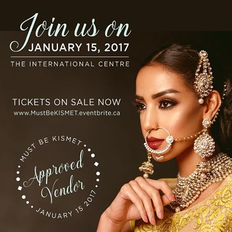 Make sure you come check out @marquee_design at the Must Be Kismat show in 2 weeks! We will have some special promos at the show! . . We are pleased to announce our exhibit at the Must Be Kismet – a Luxury South Asian Bridal Show – on Sunday January 15th, 2017 at the International Centre. Meet over 70 premier vendors for various service areas. #MustBeKismet #BridalShow #weddings #indianbridal #weddinginspiration #weddingcake #cake #vinylfloor #toronto #dancefloor #luxurywedding #royalwedding #bride #indianbride #bridetobe #2017bride #Medialwall #photobooth #vinylwrap #weddingdecor #marqueedesign